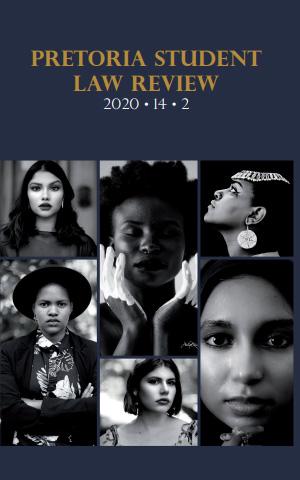 View Vol. 14 No. 2 (2020): Pretoria Student Law Review