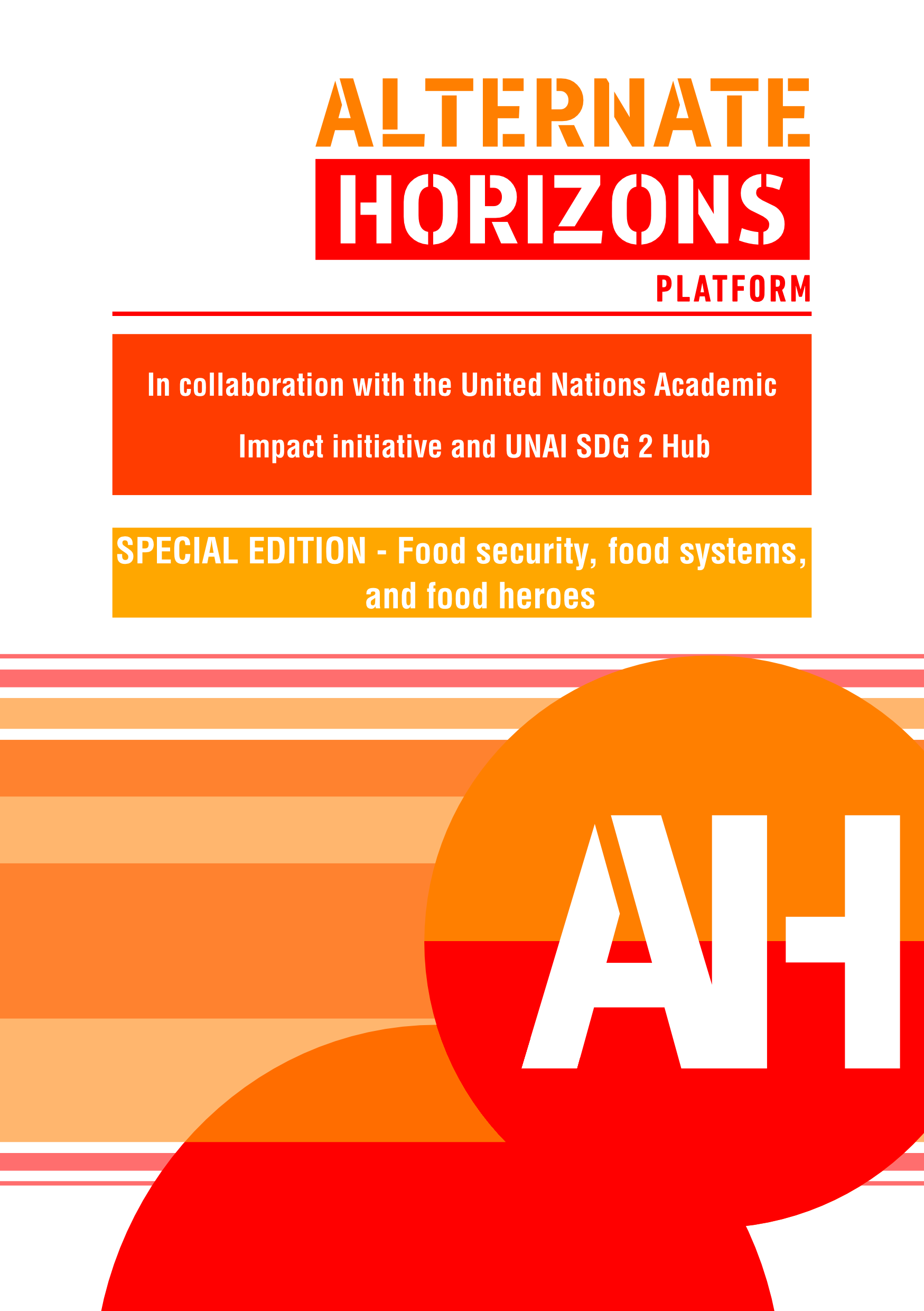 View 2021: Special edition: Food security, food systems and food heroes